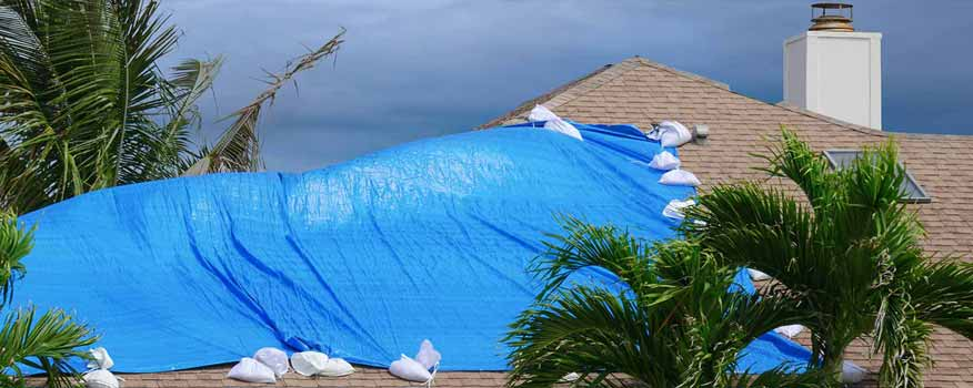 Storm Damaged Roof Fort Myers